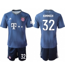 Bayern Munchen #32 Kimmich Third Soccer Club Jersey