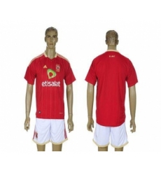 El Ahly Blank Red Home Soccer Club Jersey
