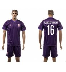 Florence #16 Blaszczykowski Home Soccer Club Jersey