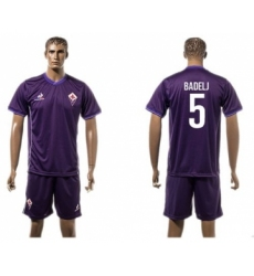 Florence #5 Badelj Home Soccer Club Jersey