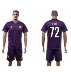 Florence #72 ILICIC Home Soccer Club Jersey