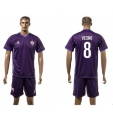 Florence #8 Vecino Home Soccer Club Jersey
