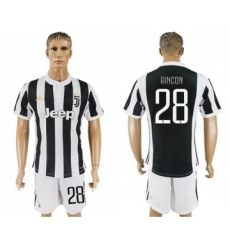 Juventus #28 Rincon Home Soccer Club Jersey