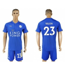 Leicester City #23 Ulloa Home Soccer Club Jersey