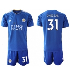 Leicester City #31 Ghezzal Home Soccer Club Jersey
