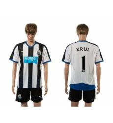 Newcastle #1 KRUL Home Soccer Club Jersey