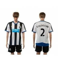 Newcastle #2 COLOCCINI Home Soccer Club Jersey