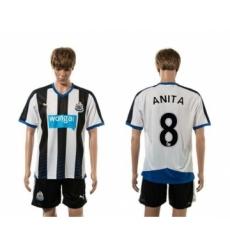 Newcastle #8 ANITA Home Soccer Club Jersey