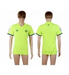 Real Betis Blank Sec Away Soccer Club Jersey
