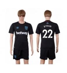 West Ham United #22 Byram Away Soccer Club Jersey