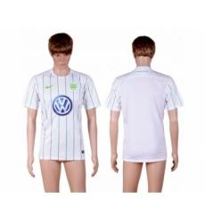 Wolfsburg Blank Away Soccer Club Jersey