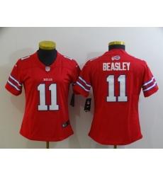 Women's Buffalo Bills #11 Cole Beasley Red Nike Royal Limited Player Jersey