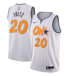 Men's Orlando Magic #20 Markelle Fultz Nike White 2020-21 Swingman Player Jersey