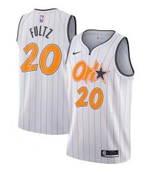 Youth Orlando Magic #20 Markelle Fultz Nike White 2020-21 Swingman Jersey