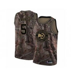 Men's Atlanta Hawks #5 Jabari Parker Swingman Camo Realtree Collection Basketball Jersey