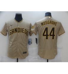 Men's Nike San Diego Padres #44 Pedro Avila White Collection Baseball Jersey