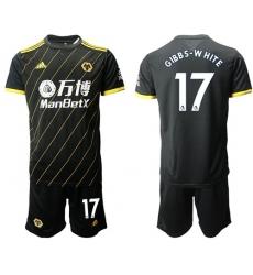 Wolves #17 Gibbs-White Away Soccer Club Jersey