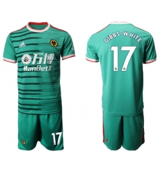 Wolves #17 Gibbs-White Third Soccer Club Jersey
