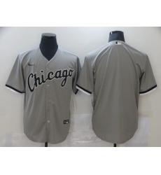 Men's Nike Chicago White Sox Blank Gray Jersey