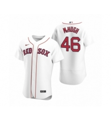 Men's Boston Red Sox #46 Collin McHugh Nike White Authentic 2020 Home Jersey