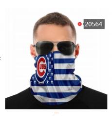 MLB Fashion Headwear Face Scarf Mask-178