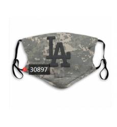 MLB Los Angeles Dodgers Mask-0025