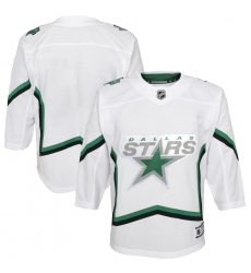 Youth Dallas Stars Blank White 2020-21 Special Edition Premier Jersey