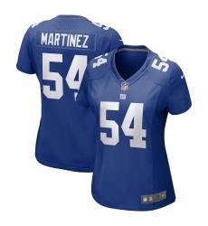 Women's New York Giants #54 Blake Martinez Nike Royal Game Jersey