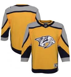 Youth Nashville Predators Blank Yellow 2020-21 Special Edition Premier Jersey