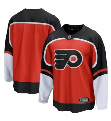 Men's Philadelphia Flyers Blank Fanatics Branded Orange 2020-21 Special Edition Breakaway Jersey