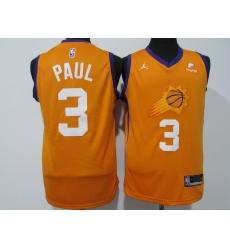 Men's Phoenix Suns #3 Chris Paul Nike Orange Swingman Jersey