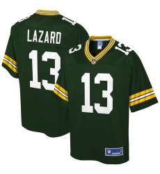 Youth Green Bay Packers #13 Allen Lazard Nike Green Limited Jersey