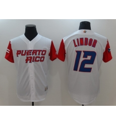 Men's New York Mets #12 Francisco Lindor Nike White Home Replica Player Jersey