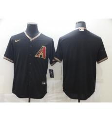 Men's Nike Arizona Diamondbacks Blank Black Road Player Jersey