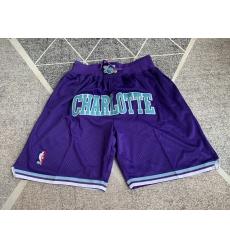 Men's Charlotte Hornets Joint restoring ancient ways Shorts