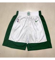 Men's Boston Celtics White 2021 City Shorts