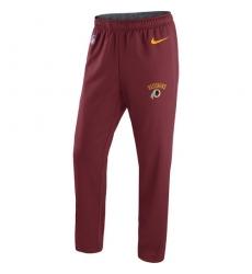 NFL Men's Washington Redskins Nike Burgundy Circuit Sideline Performance Pants