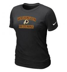 Nike Washington Redskins Women's Heart & Soul NFL T-Shirt - Black