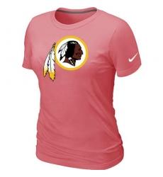 Nike Washington Redskins Women's Legend Logo Dri-FIT NFL T-Shirt - Pink