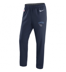 NFL Men's Tennessee Titans Nike Navy Circuit Sideline Performance Pants