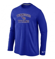 Nike Tennessee Titans Heart & Soul Long Sleeve NFL T-Shirt - Blue