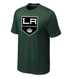 NHL Men's Los Angeles Kings Big & Tall Logo T-Shirt - Dark Green