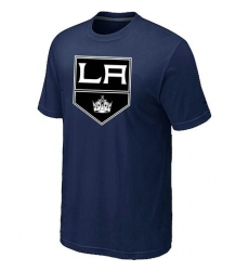 NHL Men's Los Angeles Kings Big & Tall Logo T-Shirt - Navy