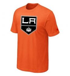 NHL Men's Los Angeles Kings Big & Tall Logo T-Shirt - Orange