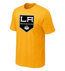 NHL Men's Los Angeles Kings Big & Tall Logo T-Shirt - Yellow