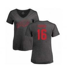 NFL Women's Nike Buffalo Bills #16 Robert Foster Ash One Color T-Shirt
