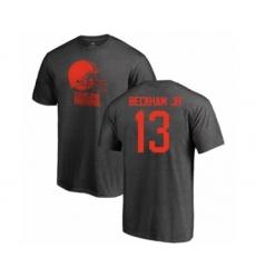 NFL Nike Cleveland Browns #13 Odell Beckham Jr. Ash One Color T-Shirt