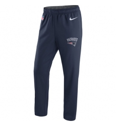 NFL Men's New England Patriots Nike Navy Circuit Sideline Performance Pants