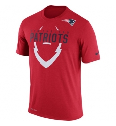 NFL Men's New England Patriots Nike Red Legend Icon Dri-FIT T-Shirt