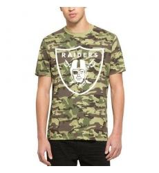 NFL Men's Oakland Raiders '47 Camo Alpha T-Shirt